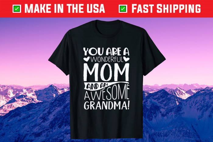 Mothers Day Grandma Mother in Law Us 2021  T-Shirt