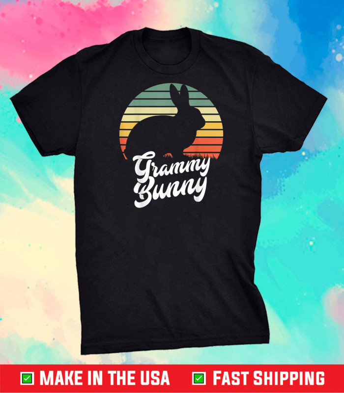 Grammy Bunny Happy Easter 2021 Easter Day Grammy Apparel Unisex T-Shirt