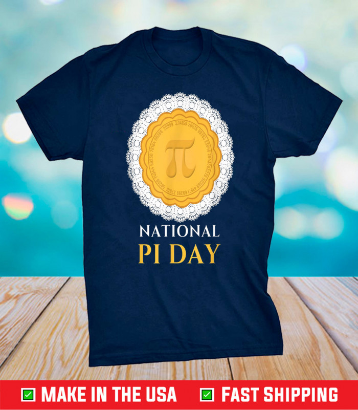 National PI Day 3.14.2021 Pie casual novelty gift pullover Unisex T-Shirt