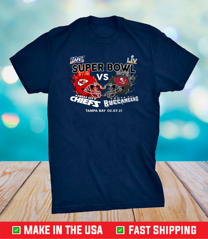 Super Bowl The Chiefs And The Buccaneers, Kansas City Chiefs Logo Gift T-Shirts
