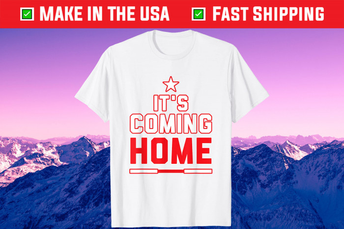 It's coming home Retro England Football There Lions Unisex T-Shirt