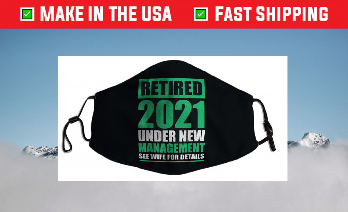 Great Retirement 2021 Pensioneers Husband Retirees Filter Face Mask