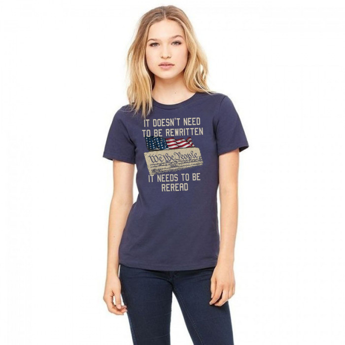 It Doesn't Need To Be Rewritten It Needs To Be Reread Us 2020 T-Shirt